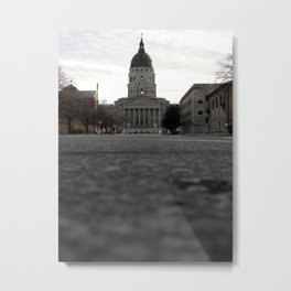 Capital City Metal Print