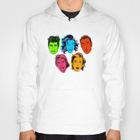 one direction Hoodies featuring One Direction by GirlApe