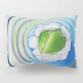 Limeade In A Blue Glass Pillow Sham