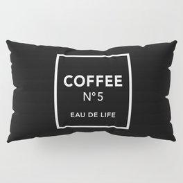 Black Coffee No5 Pillow Sham