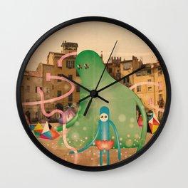 lucca è abitata dai mostri 2 Wall Clock
