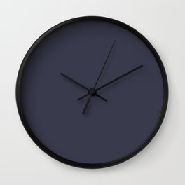 Monochrome collection Gray Wall Clock