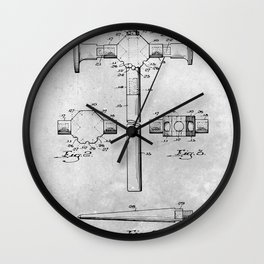 Hammers Wall Clock