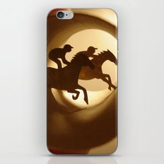 Horse racing (Courses hippiques) iPhone & iPod Skin