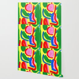 Primary Colors Colorful Abstract Modern - What Colors of Flowers Did You Like When You Were Kids? Wallpaper