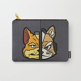 Old & New Fox McCloud Carry-All Pouch