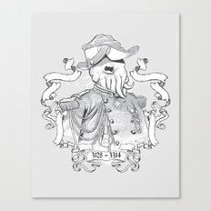 I for one welcome our Amphibious Alien Overlords Canvas Print