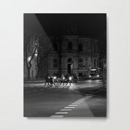 Urban life Subotica / Serbia Metal Print