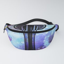 Space Needle - Seattle Stars Clouds Fog Fanny Pack