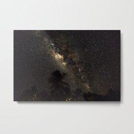 Milkyway over maldives Metal Print