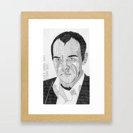Roger 'Verbal' Kint / Keyser Soze. Framed Art Print
