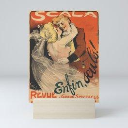 retro scala   enfin, seuls! 1901  Mini Art Print