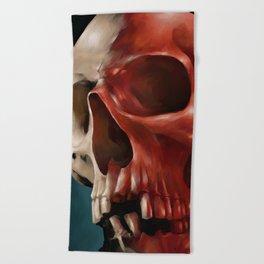 Skull 9 Beach Towel