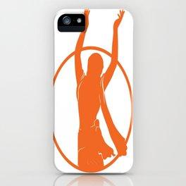 Golden Avatar Orange iPhone Case