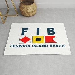 Fenwick Island - Delaware. Rug