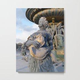 Place de la Concorde II Metal Print