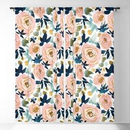 BIG NEWS Bold Floral Blackout Curtain