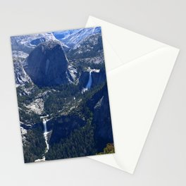 Vernal Falls And Nevada Falls Stationery Cards