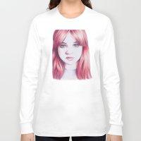 karen Long Sleeve T-shirts featuring karen ii by Jill Schell