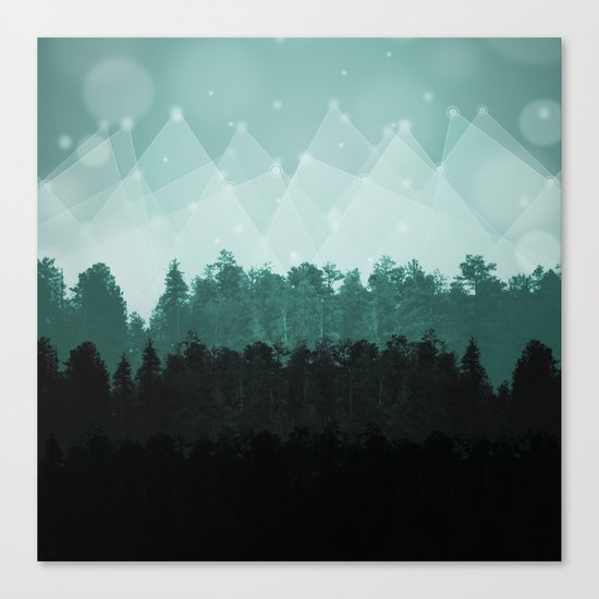 Forest Layers Canvas Print