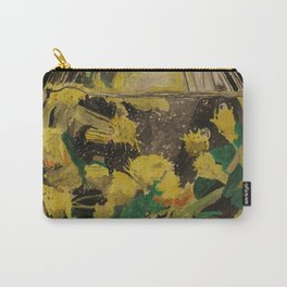 Flowers Drowning series - Wattle Carry-All Pouch