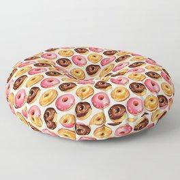 Donut Pattern Floor Pillow