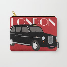 London By Hackney Service - Taxi Cab Car Carry-All Pouch