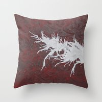 hero Throw Pillows featuring Hero by Maddy Knuth