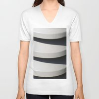 chic V-neck T-shirts featuring CHIC by Manuel Estrela 113 Art Miami