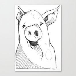 DSA - THE PIG Canvas Print