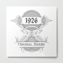 original Metal Print