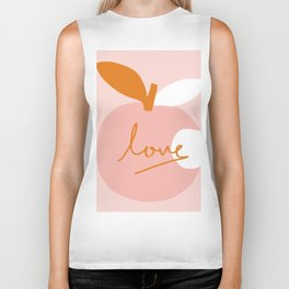 Abstraction_LOVE_BITE Biker Tank
