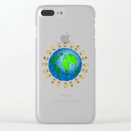 World Brownies Clear iPhone Case