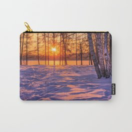 view through the pines Carry-All Pouch