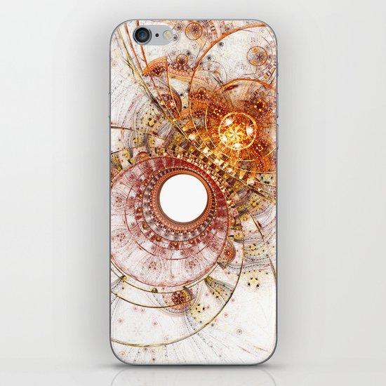 Fiery Temperament iPhone & iPod Skin