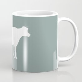 Cow: Chalky Blue Coffee Mug