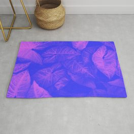 Beautiful Tropical Design Pattern Rug