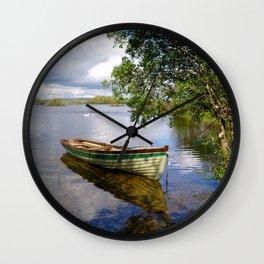 Quiet Moment in Connemara Wall Clock