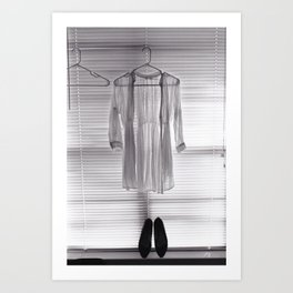 Clothes Hanger Art Print