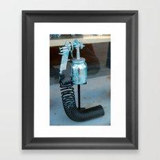 Spray painted Framed Art Print