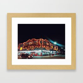 Tuesday Night on Bloor Framed Art Print