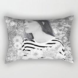 Lovely whisper Rectangular Pillow