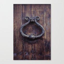 Doorknocker Canvas Print