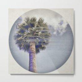 Palm Tree Shake Metal Print