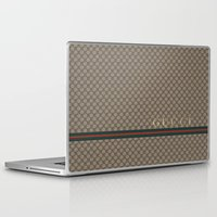 gucci Laptop & iPad Skins featuring Gucci Class by Goldflakes