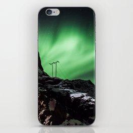 Aurora in Lofoten, Norway (II) iPhone Skin
