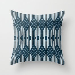 West End - Midnight Throw Pillow