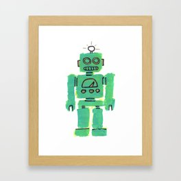 Just Robot. Framed Art Print