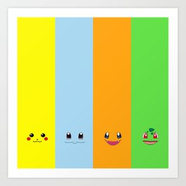 The Great Of Pika Face Art Print