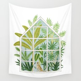 jungle greenhouse Wall Tapestry